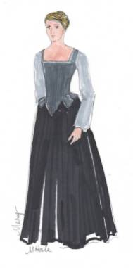 Rendering for Mary Stuart by Mariah Hale.