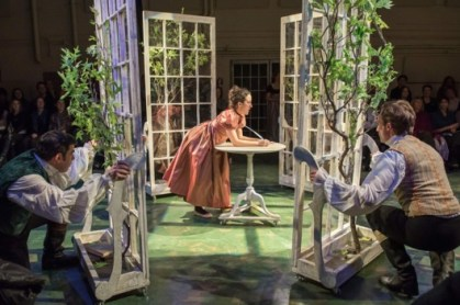 Bedlam's Sense & Sensibility in repertory at the Sheen Center.