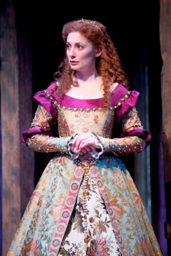 Katherine of France (Katie deBuys), Henry V, 2013. Photo: Scott Suchman.