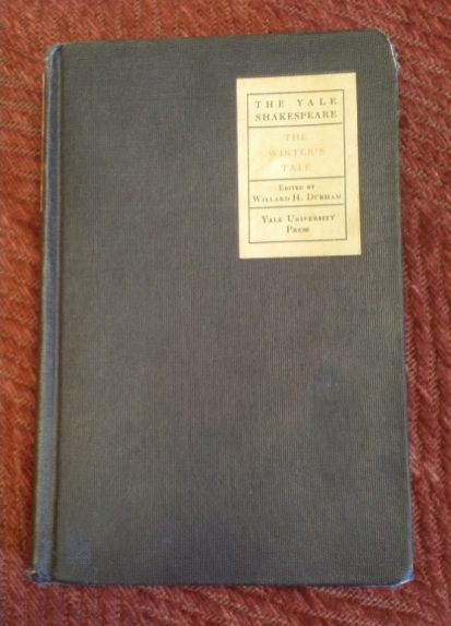 Judith Gravely's copy of The Winter's Tale