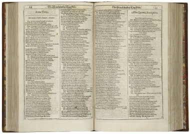 King John in Mr. William Shakespeares comedies, histories, & tragedies : published according to the true originall copies, 1623. Folger Shakespeare LIbrary: STC 22273 Fo.1 no.68.