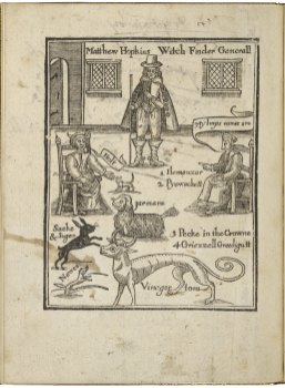 The discovery of vvitches: in answer to severall queries, lately delivered to the judges of assize for the county of Norfolk by Matthew Hopkins. Folger Shakespeare Library: 144- 461q