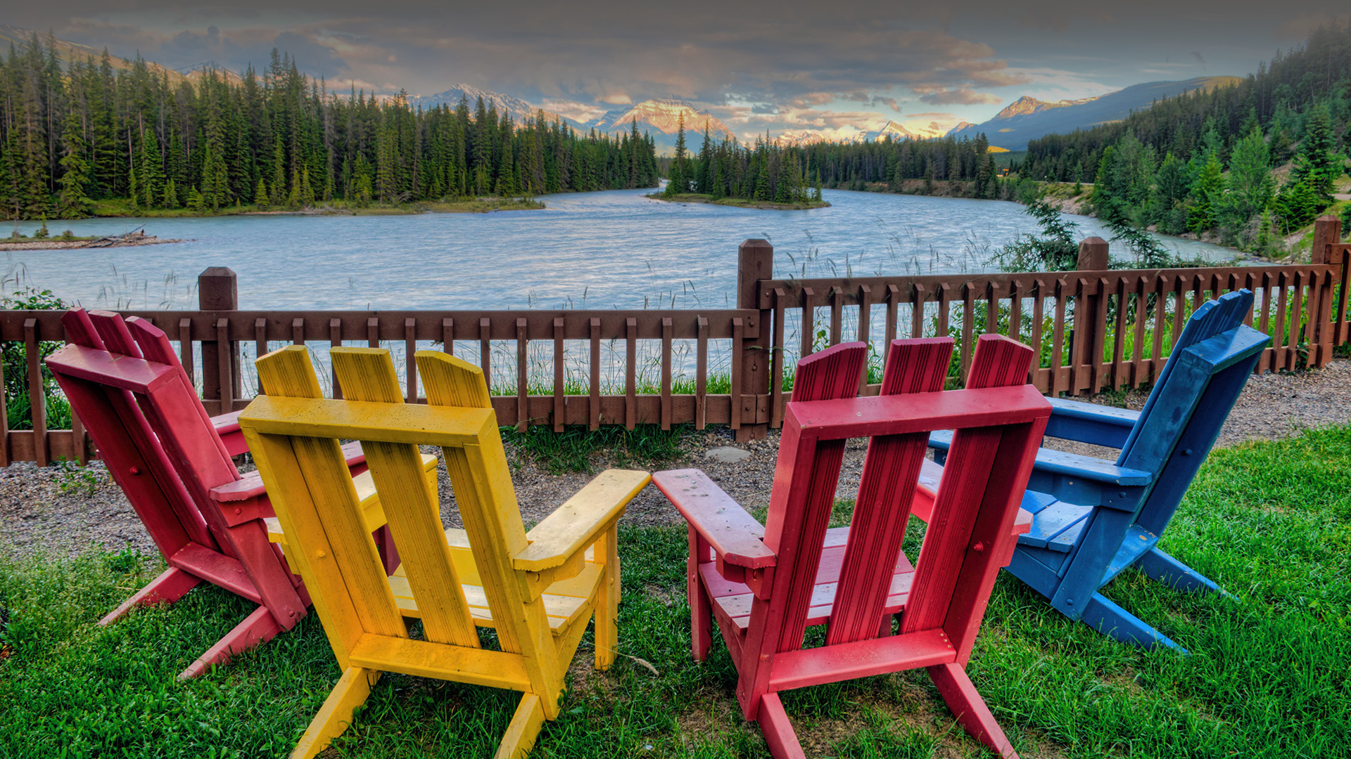 new river adirondack chairs stool chair amazon and the athabasca jasper national