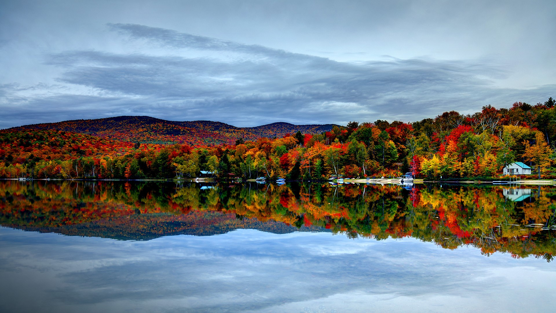 Fall In New England Wallpaper Autumn In The White Mountains Of New Hampshire New