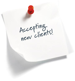 accepting new clients