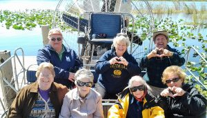 Airboat ride 1
