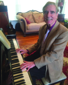 Wally Jones at the piano. Photo submitted
