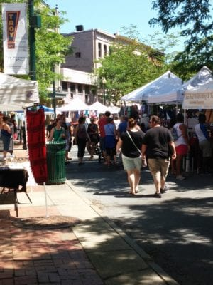 Hundreds flocked to River Street in downtown Troy for RIver Fest on Saturday, June 18.