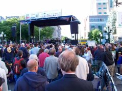Hundreds of fans turned out for Dr. John and the Night Trippers at the first Alive at Five concert of the 2016 season. Lianne Webster-Kim/Spotlight