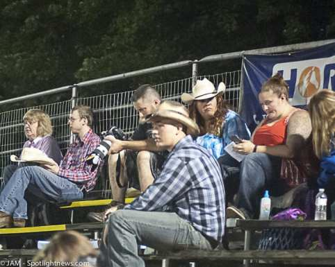 Spotted: Double M Professional Rodeo on July 15 in Ballston Spa, NY.