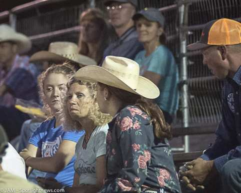 Spotted: Double M Professional Rodeo on July 8 in Ballston Spa, NY.