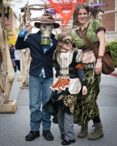 One size fits all: The festival is free fun for all ages. Photo courtesy of The Enchanted City