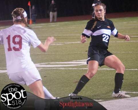 Bethlehem girls soccer falls to Niskayuna 5-2 in the Section II, Class AA finals.