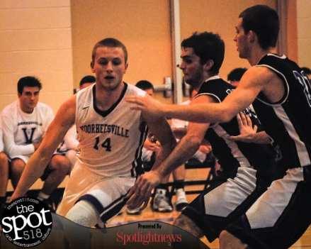 SPOTTED:Voorheesville vs. Ichabod Crane boys basketball Friday, Jan. 13. Photo by Rob Jonas/Spotlight