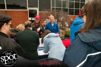 SPOTTED: National Walking Day at Albany Medical Center, Wednesday, April 5