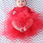 Christmas Photo Shoot and DIY Baby Tutu Tutorial