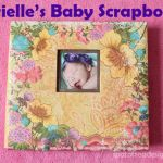 Scrapbooking: Brielle's Baby Book Part VIII