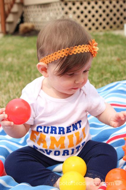 DIY Baby Onesie: Current Family Favorite | spotofteadesigns.com