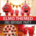 Elmo Birthday Party: The Full Party Details