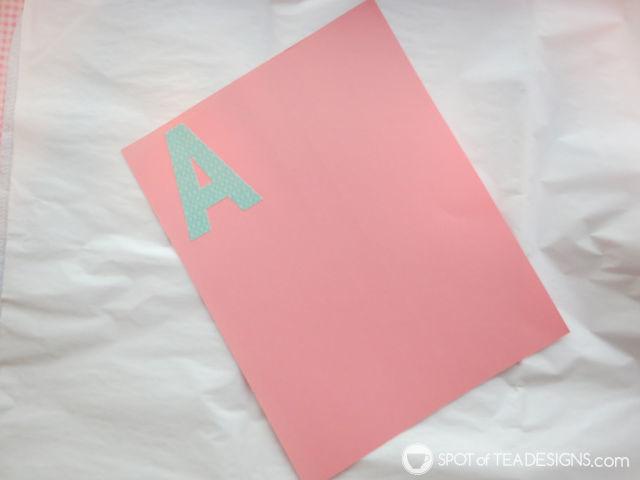 Sweet and Feminine Girl #BabyShower #Party Alphabet Book activity | spotofteadesigns.com