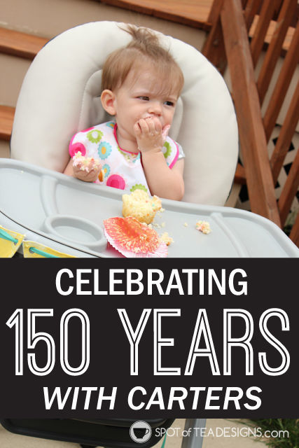 Celebrating a very #HappyBirthdayCarters with a #CartersSweepstakes #ad #ic @Carters | spotofteadesigns.com