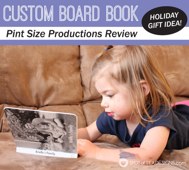 Custom Board Book from @Pintsizebooks Perfect #gift for a #toddler   spotofteadesigns.com