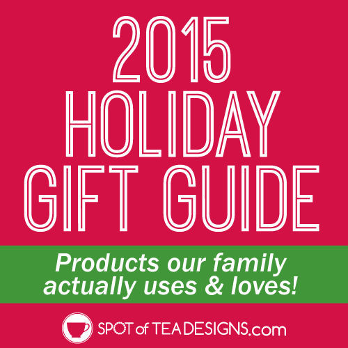 2014 Holiday #Gift Guide: featuring products our family actuall uses and loves | spotofteadesigns.com
