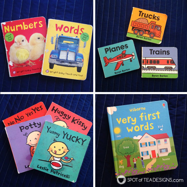 20+ favorite books for boys under age 6 - board books | spotofteadesigns.com