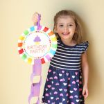 Paper Chain Birthday Countdown with Free Printable