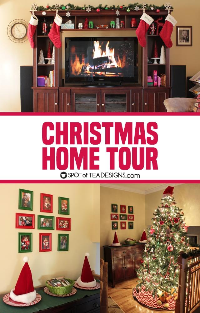 Christmas Home Tour 2017   spotofteadesigns.com