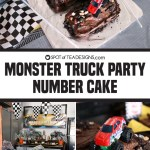 Monster Truck Party | Number Cake