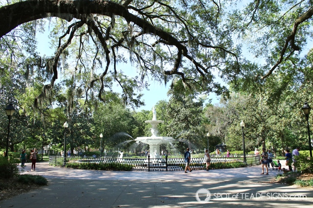 Girls Weekend to Savannah Georgia - where we stayed, ate and what we did | spotofteadesigns.com