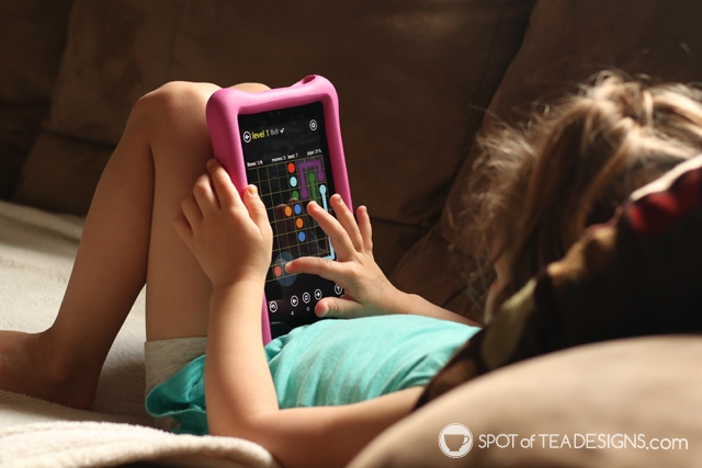 Our favorite Amazon fire apps for preschoolers | spotofteadesigns.com
