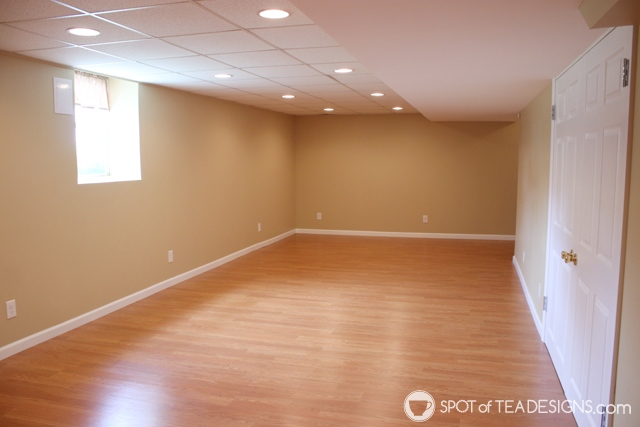 "Nehil Home Tour: the ""before"" photos - basement 
