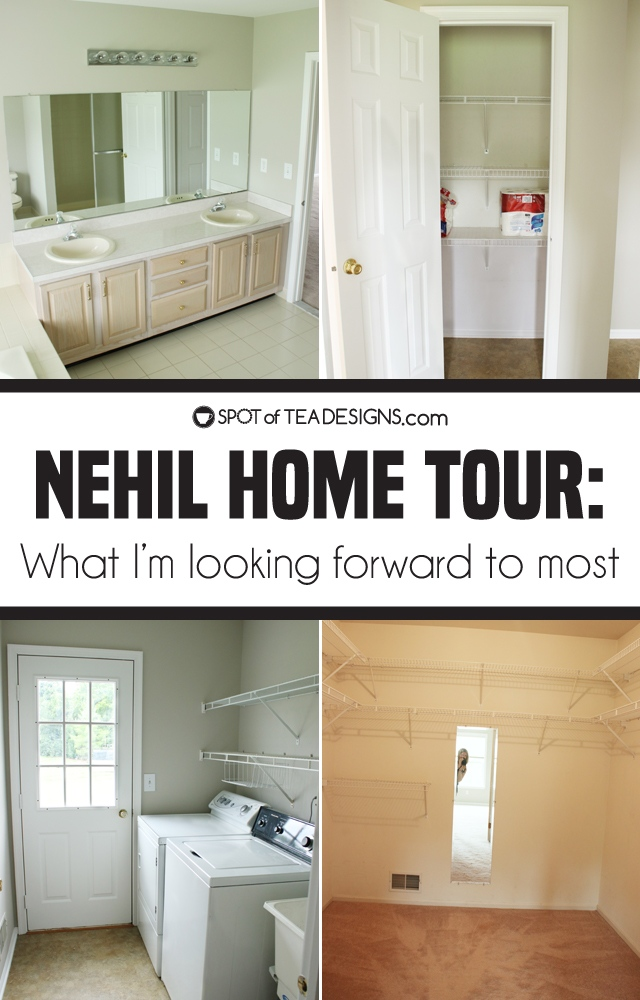 Nehil Home Tour: what I'm looking forward to most | spotofteadesigns.com