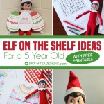 Elf on the Shelf – Ideas for a 5 year Old