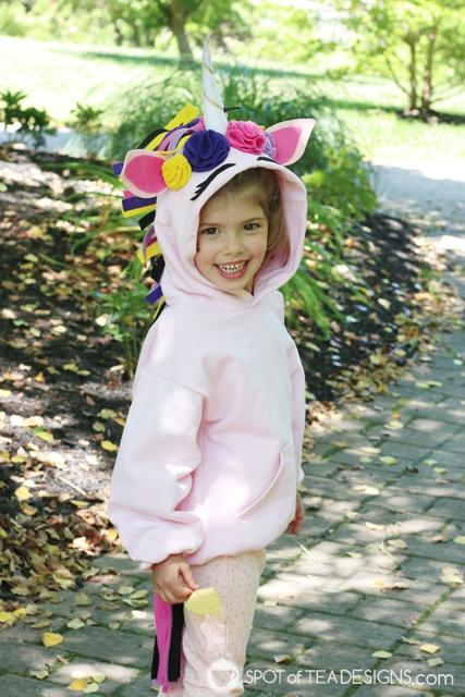 DIY Hoodies for kids - unicorn   spotofteadesigns.com