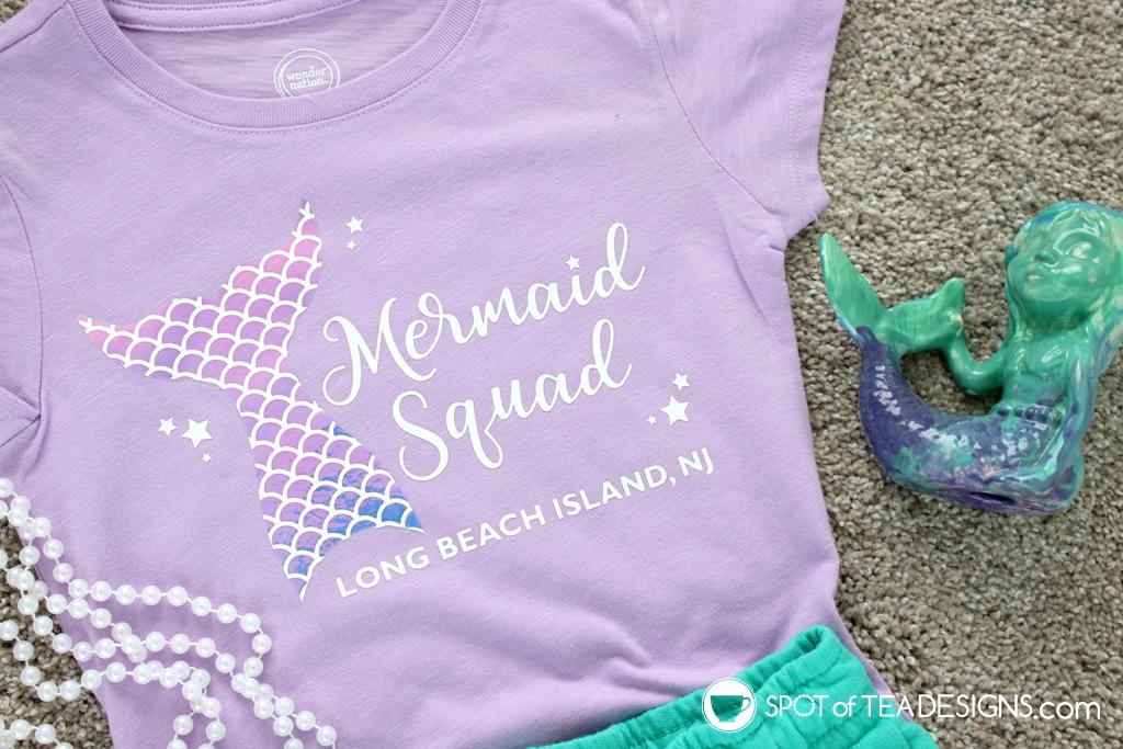 Mermaid Birthday Summer Infant Shirt Summer Birthday Girl Gift Mermaid Squad Infant Mermaid Toddler Shirt Mermaid Shirt Beach Toddler