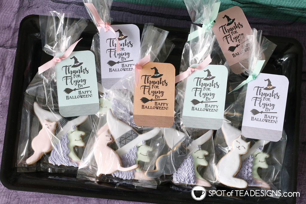 Witches Night Out Pastel Halloween Party Printables | spotofteadesigns.com