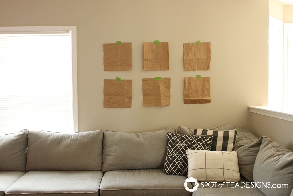 Home Tour - Living room gallery wall | spotofteadesigns.com