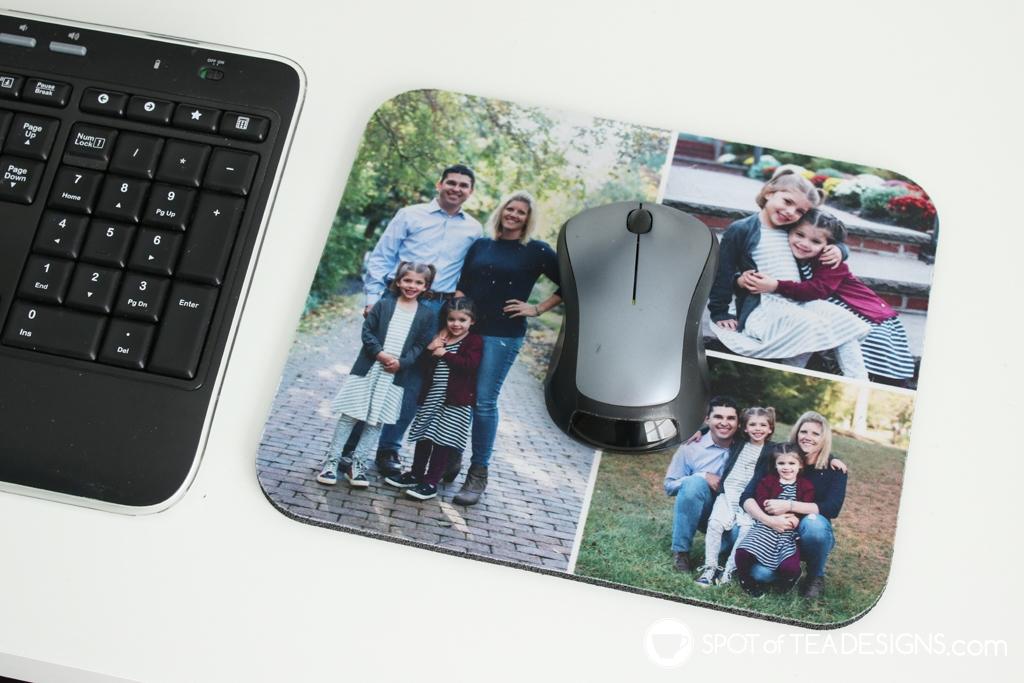 Craft Room Tour - custom mouse pad | spotofteadesigns.com