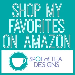 Shop the Spot of Tea Designs Amazon Store front | spotofteadesigns.com