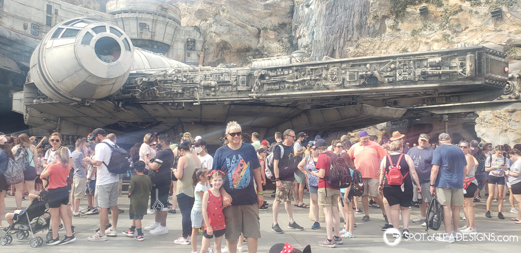 Disney World Itinerary - Hollywood Studios Star Wars | spotofteadesigns.com