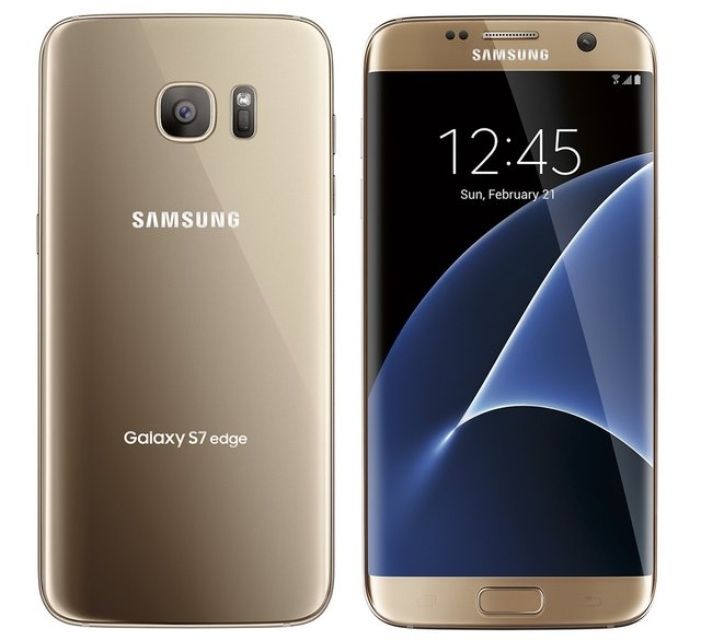 samsung galaxy s7 edge renders show three color variants front and rear sides