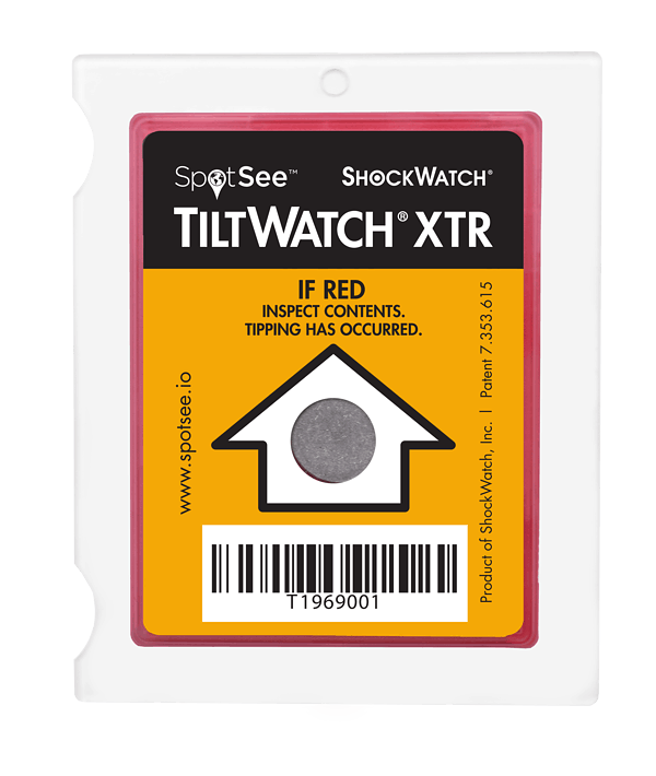 TiltWatch XTR by Spotsee