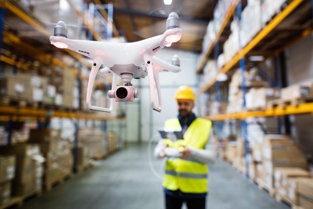Eye in the Sky: Drones and Passive RFID to Manage Assets