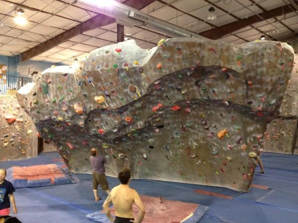 Rock Climbing Gym Boulder