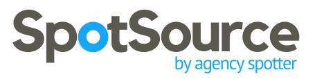 SpotSource by Agency Spotter Logo
