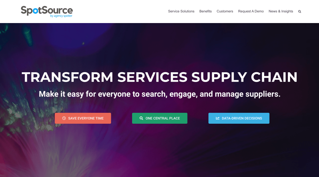 Enterprise transformation for the services supply chain