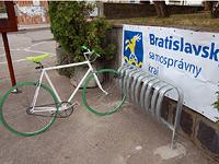 Cyklostojany Bratislava